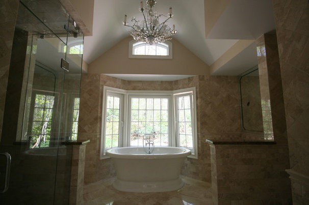 Traditional Bathroom by Vazac Contracting Corp