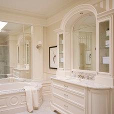 Traditional Bathroom by Leona Mozes Photography