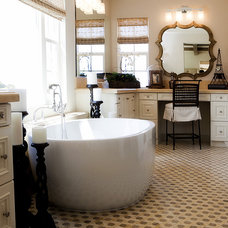 Traditional Bathroom by Royal Stone & Tile