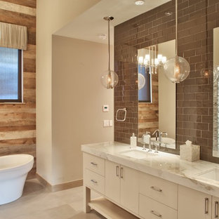 Custom Mountain Modern - Master Bathroom