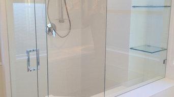 Custom neo-angle frameless showers, Greater Vancouver's Shower Glass