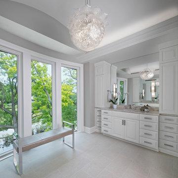 Custom New Home Design, Master Bath