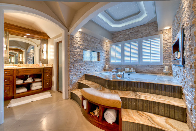 Bathroom by Dominion Granite & Marble