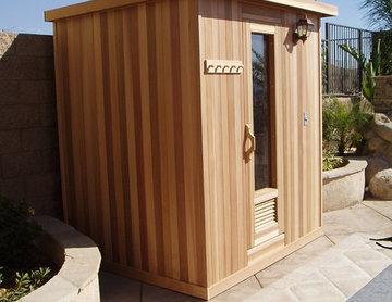 Custom Outdoor Sauna