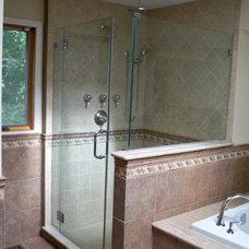 Traditional Bathroom by Blue Tree Builders, LLC