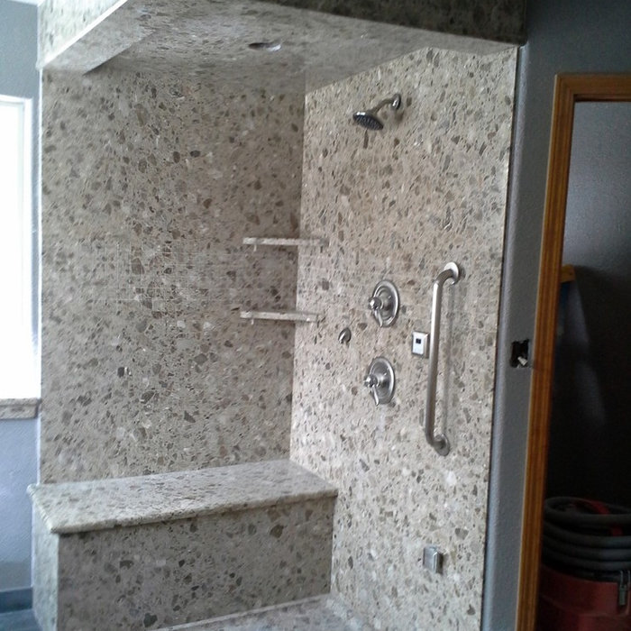 Fowler Granite Shower