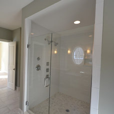 Transitional Bathroom by Hearth & Stone Builders