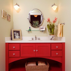Eclectic Bathroom by People Places & Things Photographics