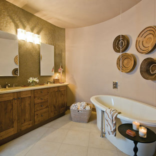 Custom Rustic Master Bathroom