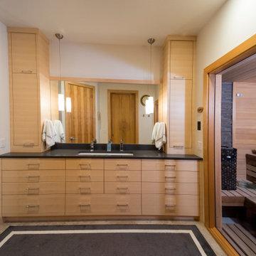 Custom Sauna in Master Bath Suite