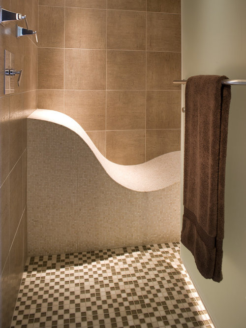 Curved Shower Seat Houzz