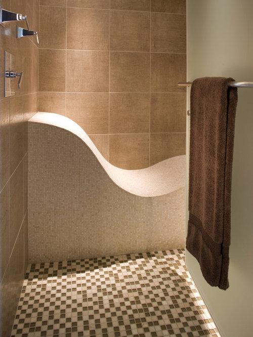 Custom Shower Design Ideas Nice Tile Shower Niche Shelf Planning