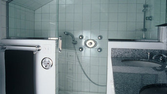 Custom Shower Enclosure By Lakeview Glass Inc