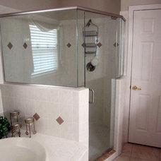 Traditional Bathroom by Woodys Enterprises, LLC.