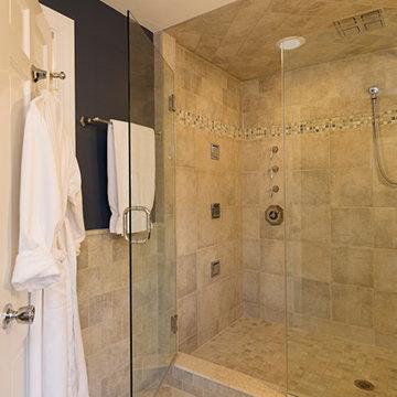 Custom Shower Entry