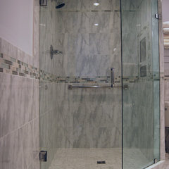 traditional bathroom by RJ Maillie Jr LLC
