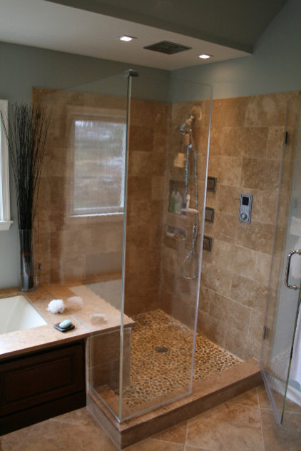 Traditional Bathroom by Diana Dyer  Diana M Dyer Design Services LLC