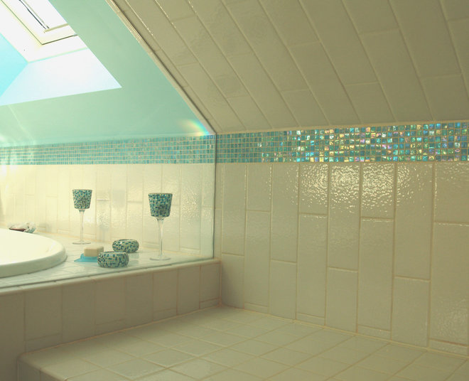 Contemporary Bathroom by Capozza Tile & Floor Covering Center