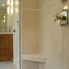 traditional bathroom by Capozza Tile & Floor Covering Center