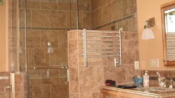 Custom steam shower