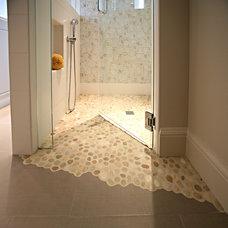 Contemporary Bathroom by Hawthorne Tile
