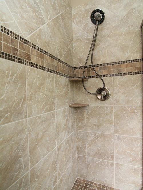 Custom Tile Shower | Houzz