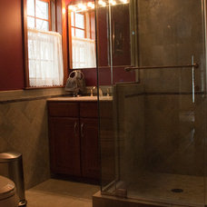 Traditional Bathroom by Chamberlin Kitchen & Bath