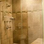 Mequon Custom Tiled Shower Modern Bathroom Milwaukee