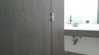 Custom Toilet Partitions and Cabinetry