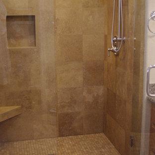 Travertine Shower Houzz