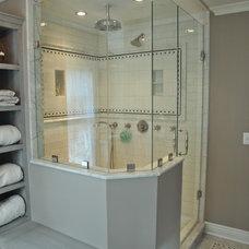 Traditional Bathroom by Marlene Wangenheim AKBD, CAPS, Allied Member ASID