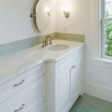 Traditional Bathroom by White Wood Kitchens