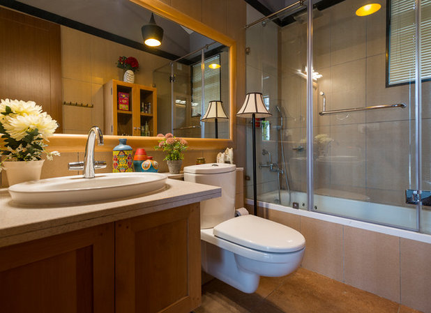 American Traditional Bathroom by Shefali Singh, Architect
