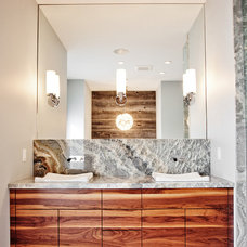 Transitional Bathroom by Madison Taylor