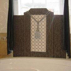 Traditional Bathroom by All Things Savvy, Inc.