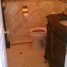 Contemporary Bathroom by Tile Importers & Distributors