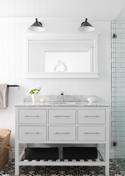Country Bathroom by Vanity By Design
