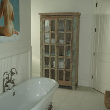 Traditional Bathroom by Discoveries Furniture & Finds