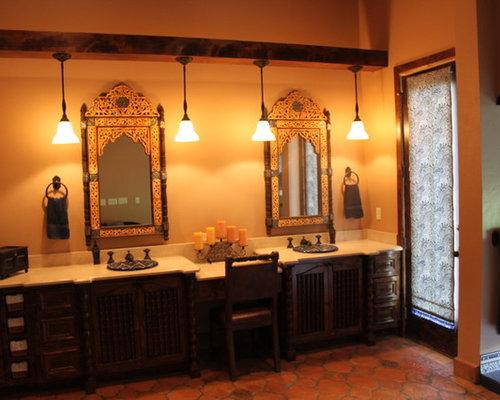 Mediterranean New Orleans Bath Design Ideas Pictures