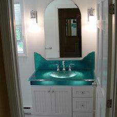 Tropical Bathroom by Northshore Kitchens Plus