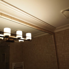 Traditional Bathroom by Crown Plaster Inc.