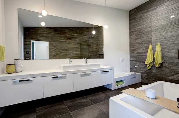 Popular Contemporary Bathroom by Berghuis Construction LLC