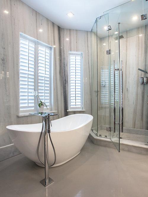 Richmond bathroom design ideas renovations photos with for Bathroom design richmond