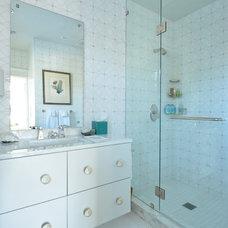 Contemporary Bathroom by Powers Design & Build, LLC