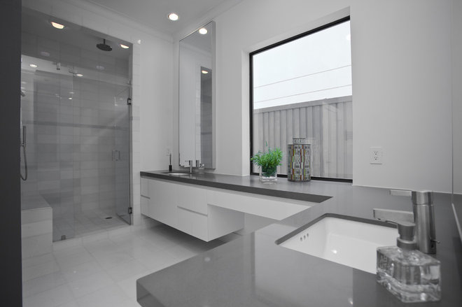 Contemporary Bathroom by Austin Interior Renovations & Statewide Remodeling