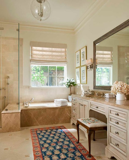 Traditional Bathroom by John K. Anderson Design