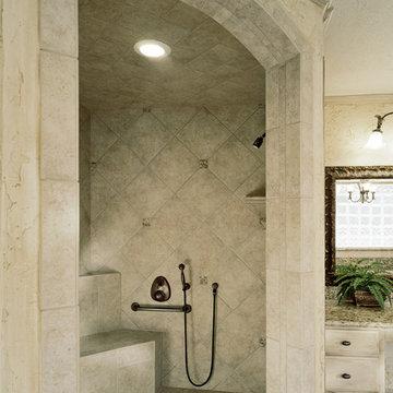 Dallas Texas Universal bathroom remodel