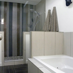 Inspiration for a midcentury bathroom in Dallas.