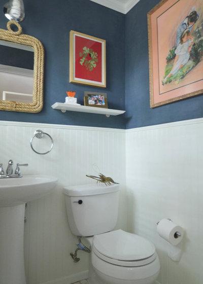 Eclectic Bathroom by Sarah Greenman