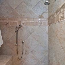 Traditional Bathroom by Angela Todd Designs
